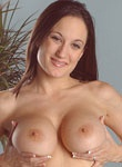 Natural big boob hottie plays with herself from Honey Chest