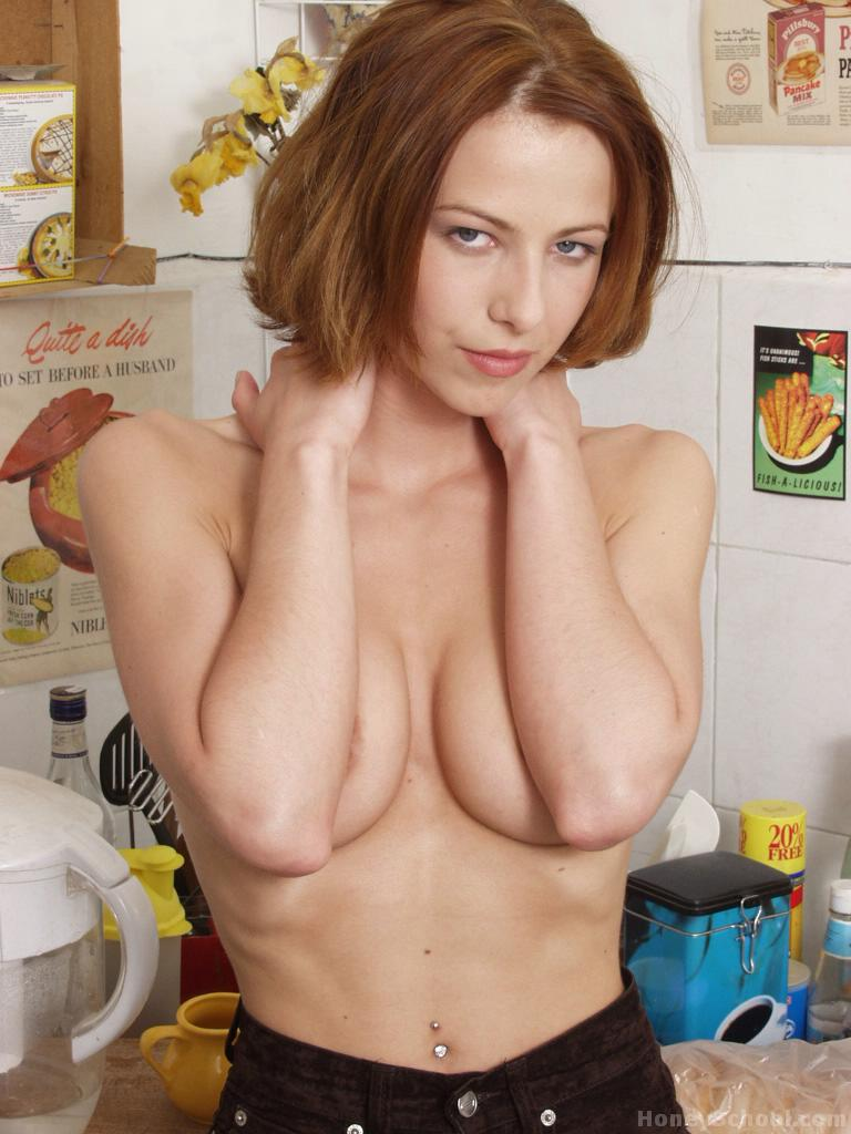 Opinion redhead perky breasts have