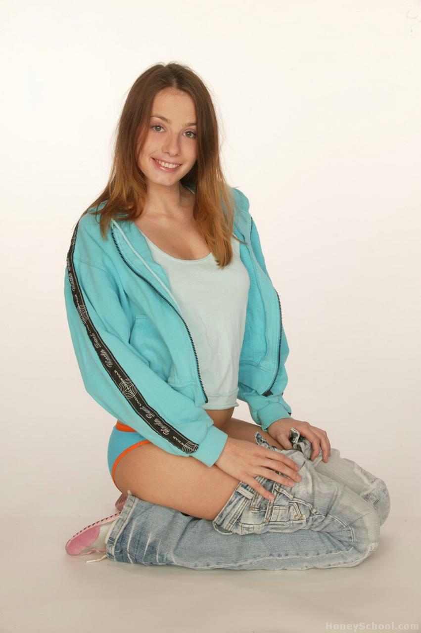 Cute Teen Stripping 103