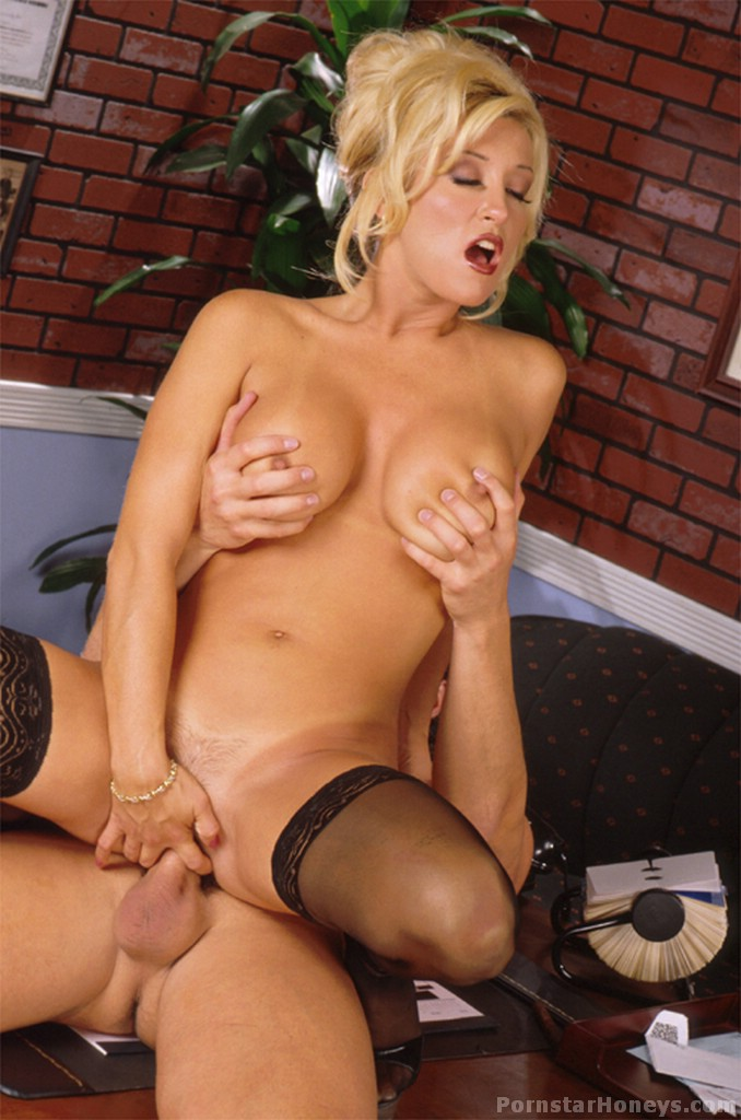 jill kelly busty blonde stocking sex
